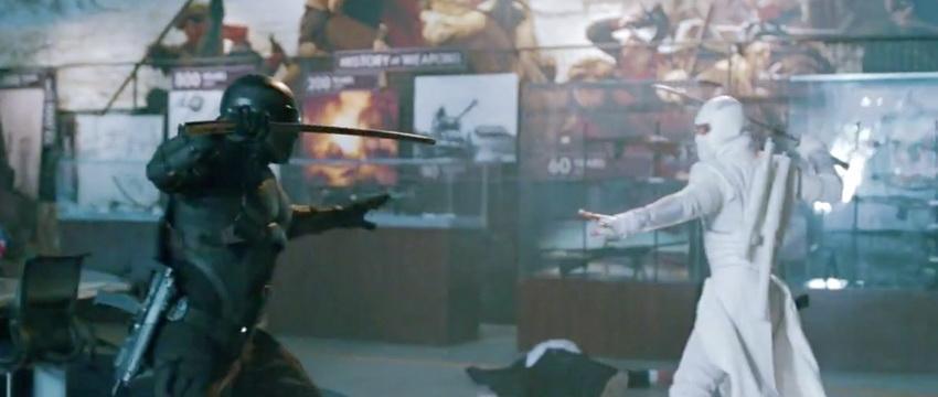 Gi Joe Retaliation Snake Eyes Vs Storm Shadow   G I  Joe Retaliation