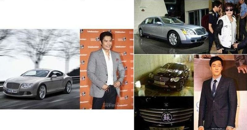 photo of Lee Byung-hun  - car