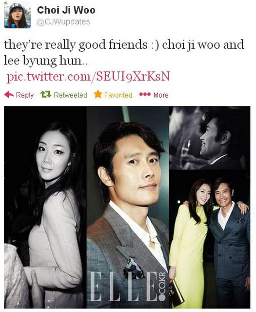lee byung hun and choi ji woo dating